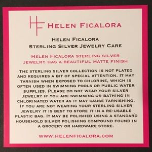 helen Ficalora Jewelry - Helen Ficalora Love disk necklace